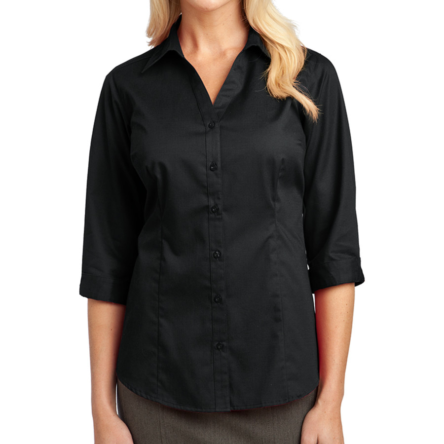 Port Authority Ladies 3/4-Sleeve Blouse (Apparel)