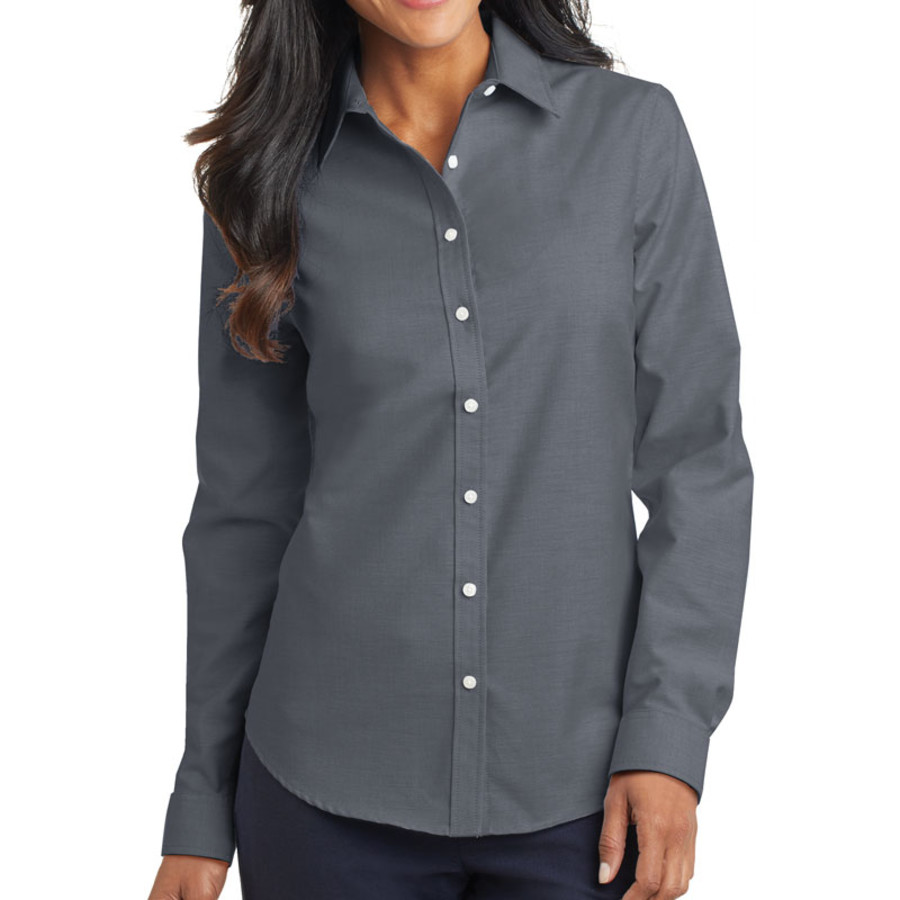 Port Authority Ladies SuperPro Oxford Shirt (Apparel)