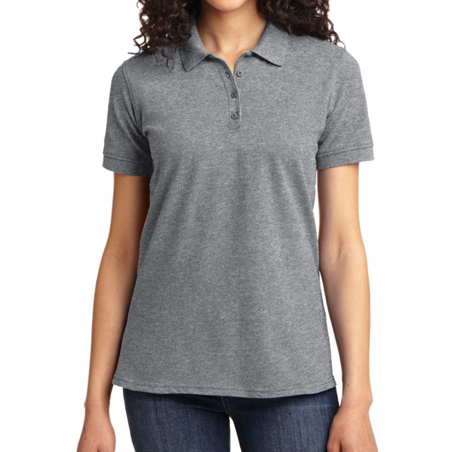 Port & Company Ladies 50/50 Pique Polo (Apparel)