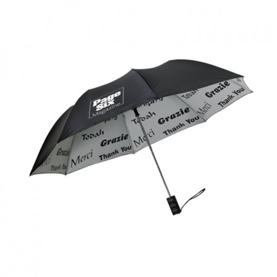 """Logo 48"""" Arc Thank You Umbrella"""