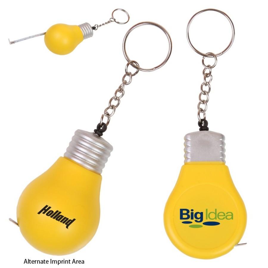 Monogrammed 3 Ft. Light Bulb Tape Measure