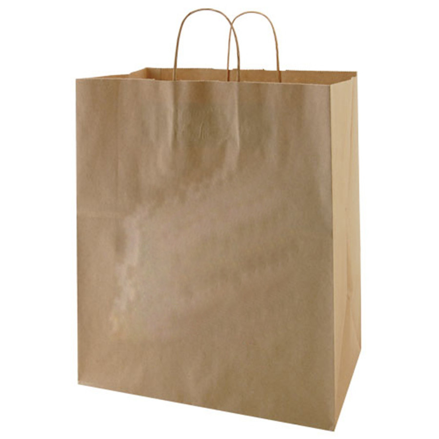 Printable Recycled Natural Kraft Bags