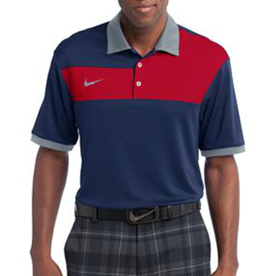 23e290b9 Sport Polo - Nike Golf Colorblock Polo | SilkLetter