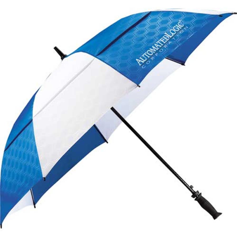 "Printable 64"" Slazenger™ Champions Vented Auto Golf Umbrella"