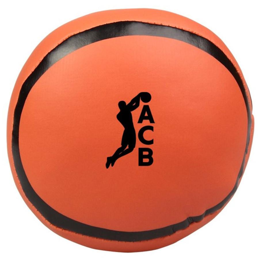 Printed Basketball Pillow Ball