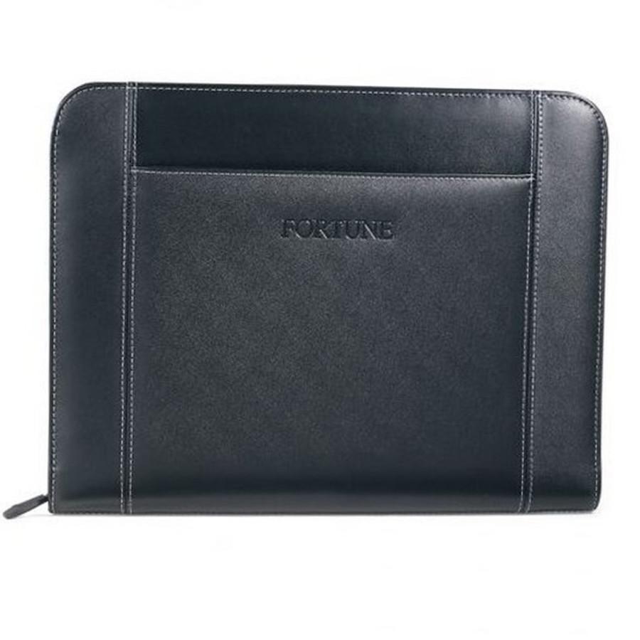 Printed Eton Leather Padfolio