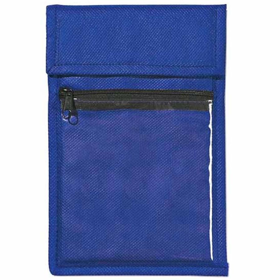 Printed Non-Woven Neck Wallet Badge Holder
