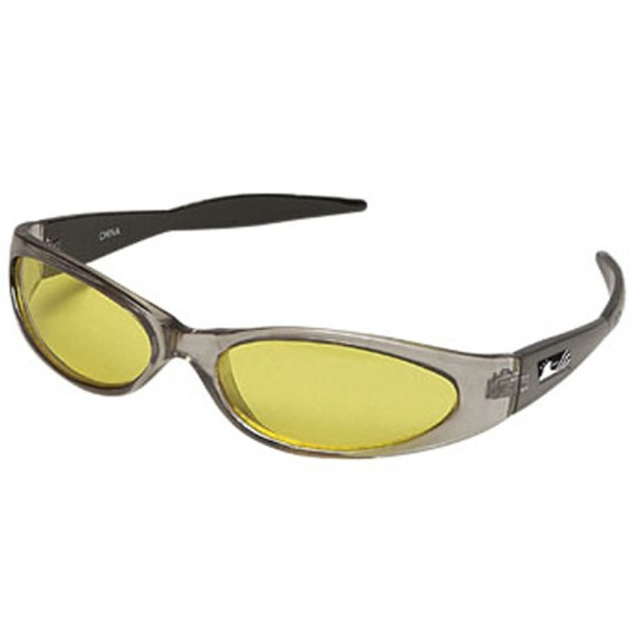 Promo Clear Frames Sunglasses and Yellow Lenses