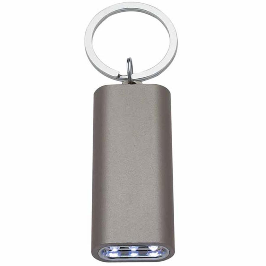 Rectangular Aluminum LED Light with Key Ring