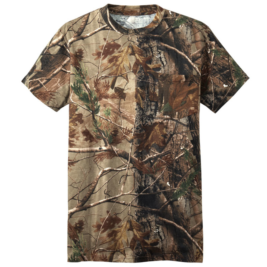 Russell Outdoors - Realtree Explorer 100% Cotton T-Shirt with Pocket (Apparel)