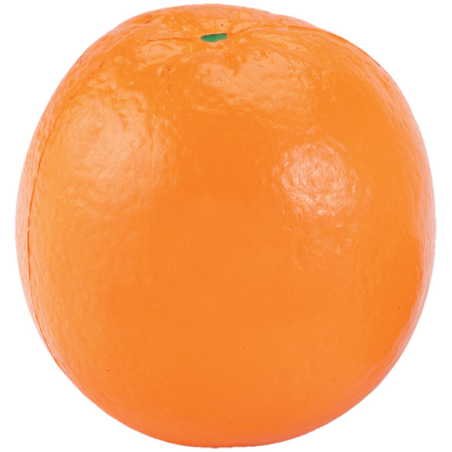 Engraved Orange Stress Reliever