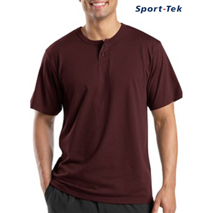 Sport-Tek® - Short Sleeve Henley