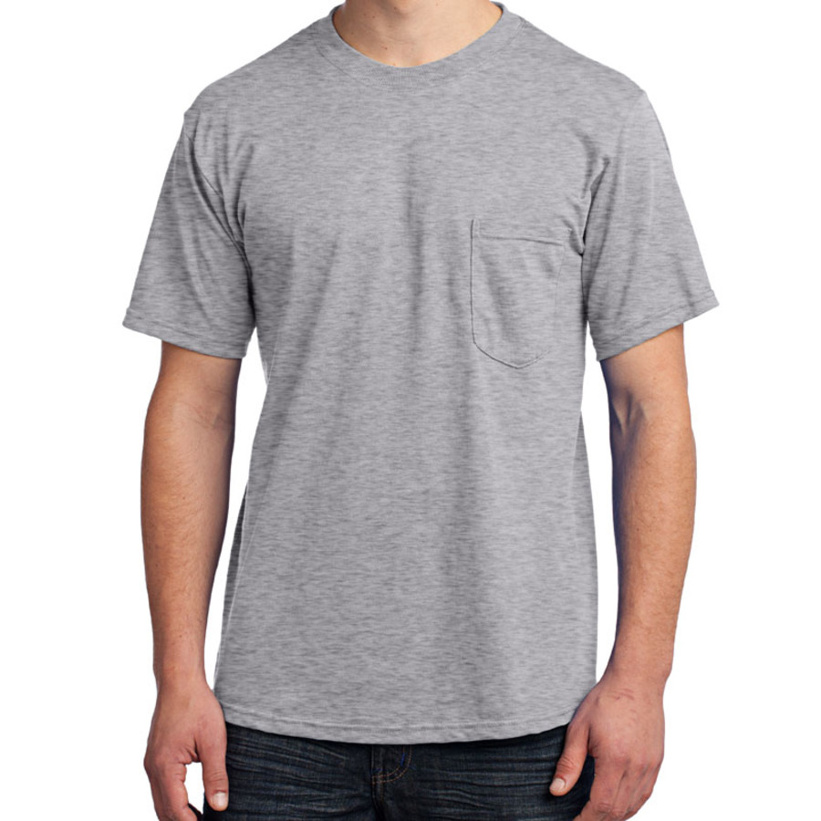 Port & Company - All-American Tee with Pocket (Apparel)