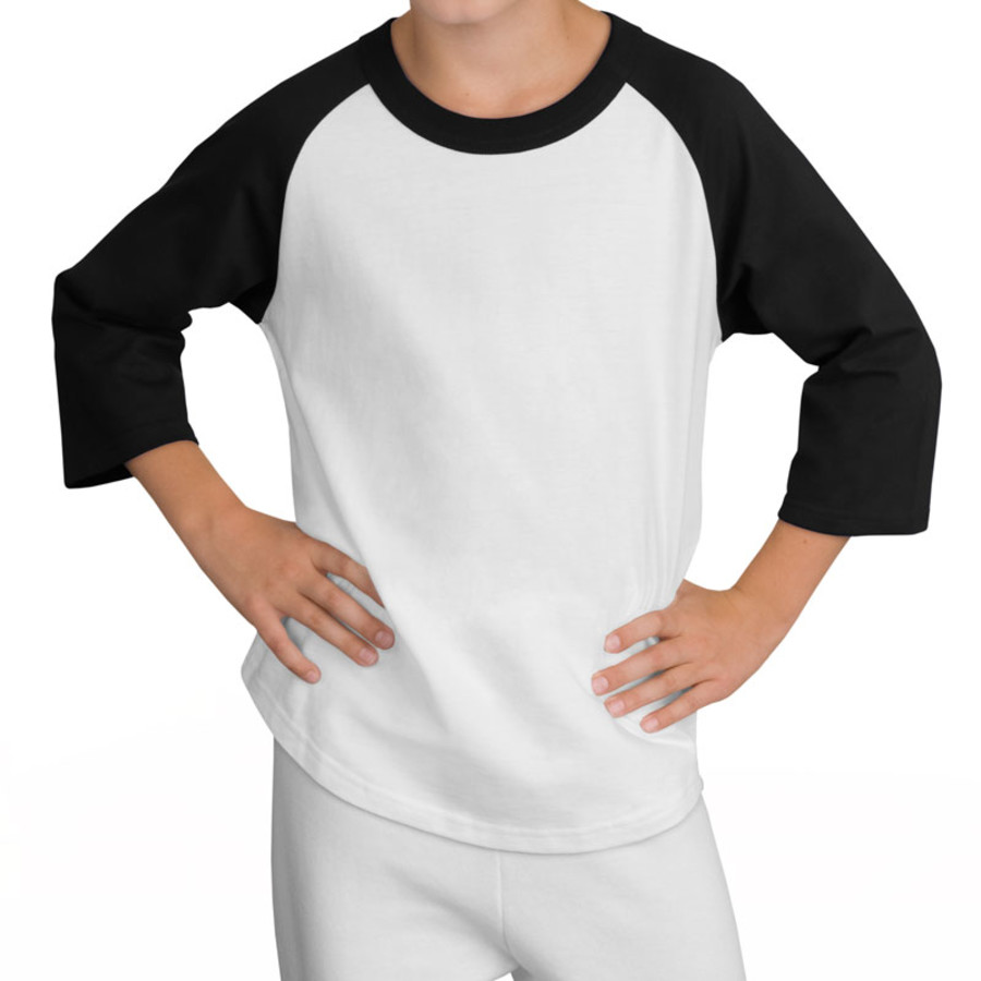 Sport-Tek Youth Colorblock Raglan Jersey (Apparel)