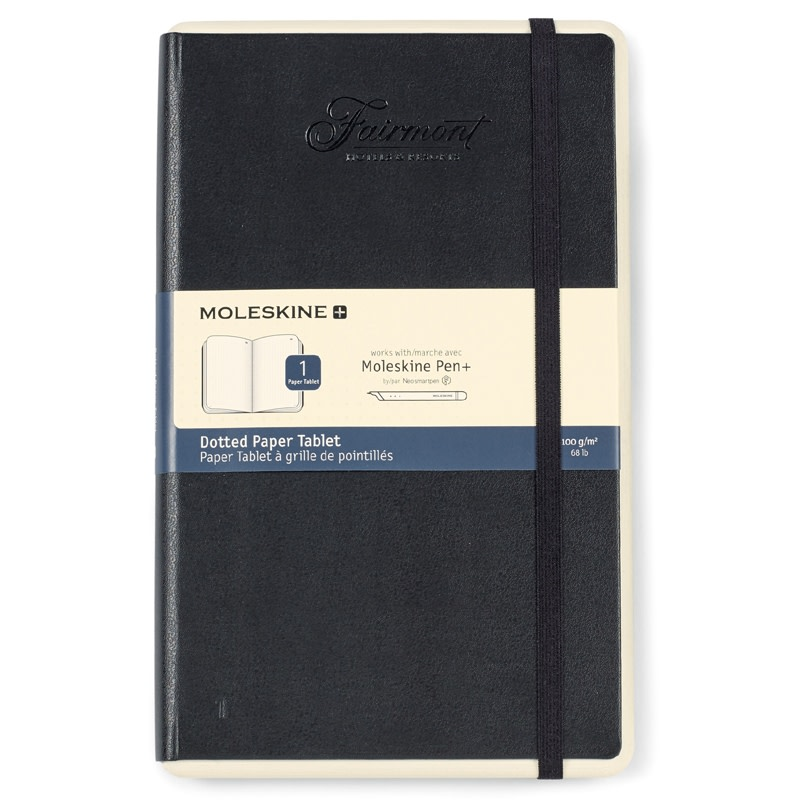 moleskine paper Moleskine paper tablet, smart notebook, large ruled, black, hard cover (5 x 825), compatible with moleskine pen+ (sold separately) and app, digitize and organize notes, ideas, bullet journal.