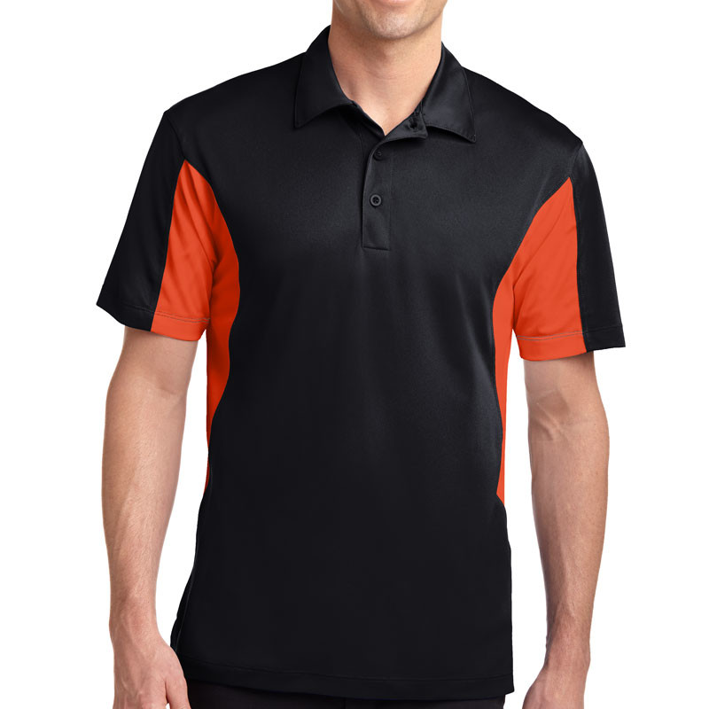 Sport Tek Side Blocked Micropique Sport Wick Polo