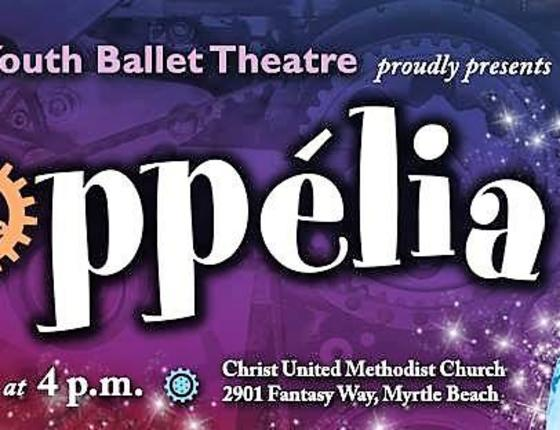 Coastal Youth Ballet Theatre presents Coppélia