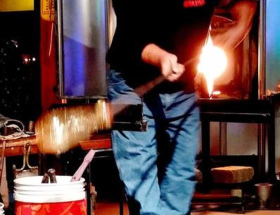 First Saturday Glass Blowing Demonstrations