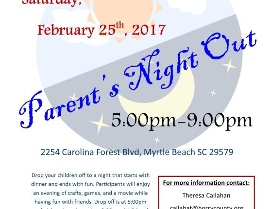 February Parent's Night Out