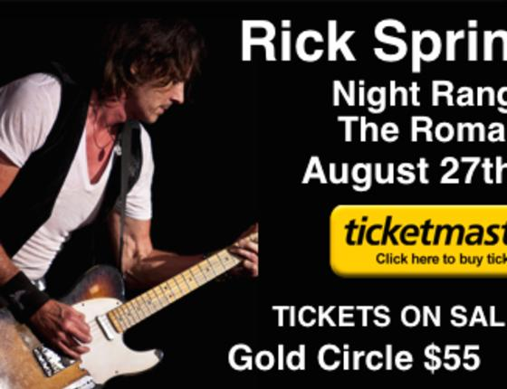 Rick Springfield Live in Concert at Myrtle Beach Speedway!