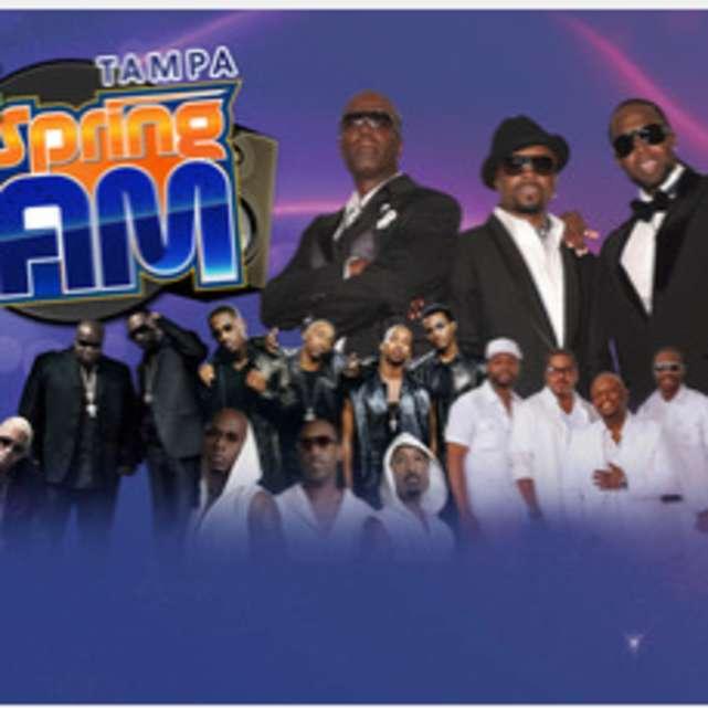 Tampa Spring Jam with Guy, Dru Hill, Tony Toni Tone, 112