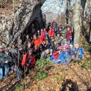 Swannanoa Rim Hike #10 Top of Brushy/High Top Bee Tree