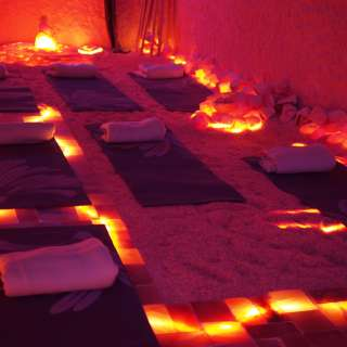 Yoga Nidra in our Himalayan Salt Cave Sanctuary