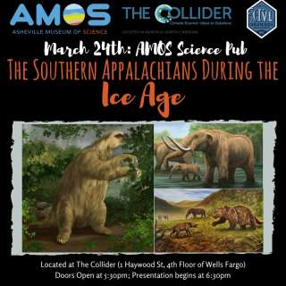AMOS Science Pub: The Southern Appalachians During the Ice Age