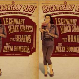 Legendary Shack Shakers, The Brains & The Delta Bombers