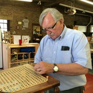 Hand-Woven Chair Caning Class