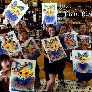 Drink and Paint at a Bar!