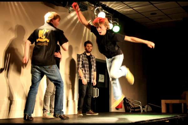 Improv Comedy: Dark Matter featuring Discharge Crumble, Project ✓& and Black Market Lullaby