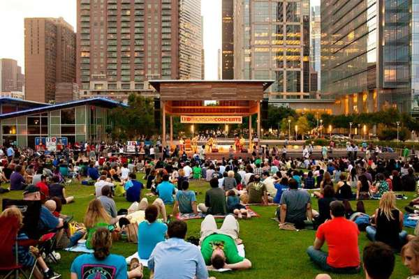 Toddler Tuesdays at Discovery Green
