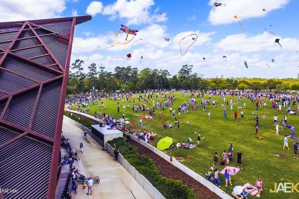 Fourth Annual Hermann Park Conservancy Kite Festival