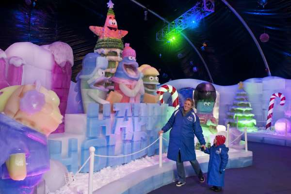 Ice Land: Ice Sculptures, A Caribbean Christmas