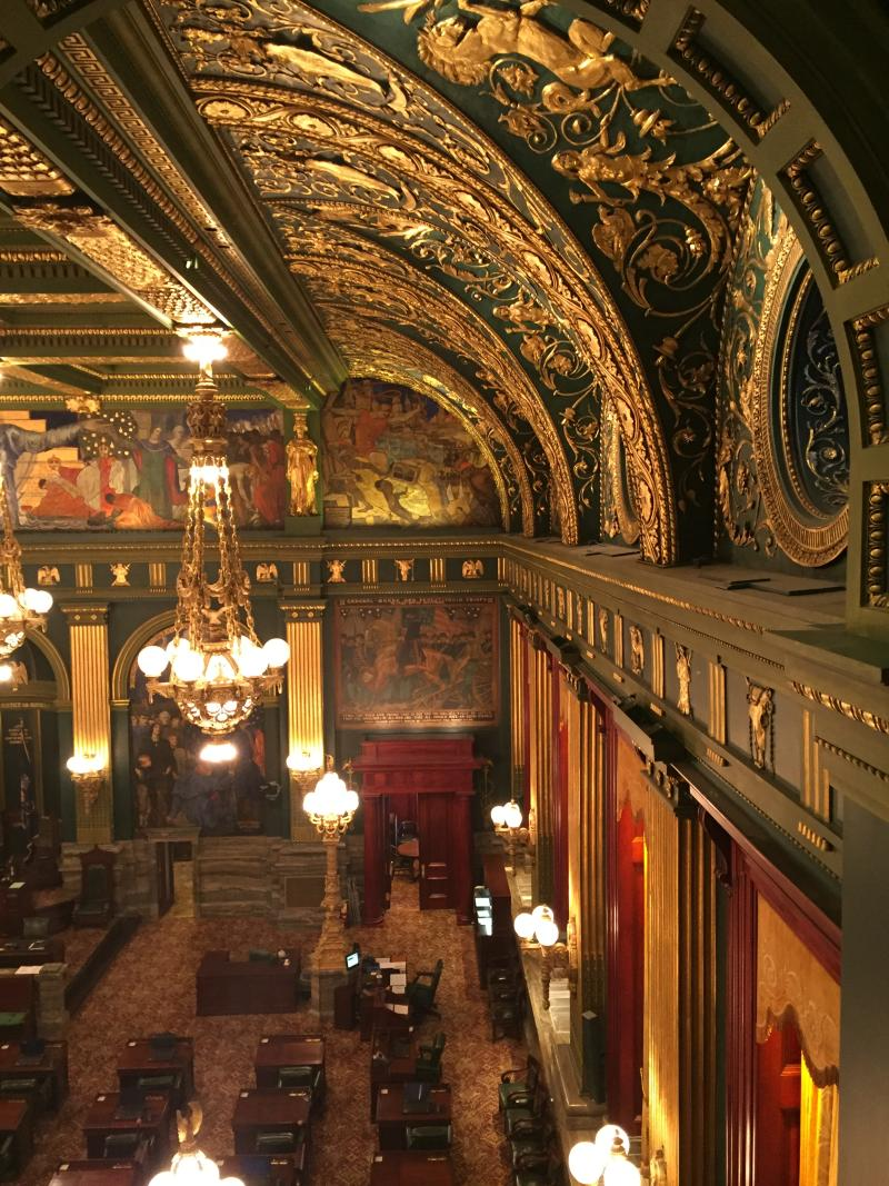 Capitol Complex interior - photo by Mackenzie Carpenter - Oct. 2015