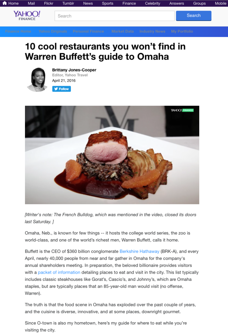 10 cool restaurants you won