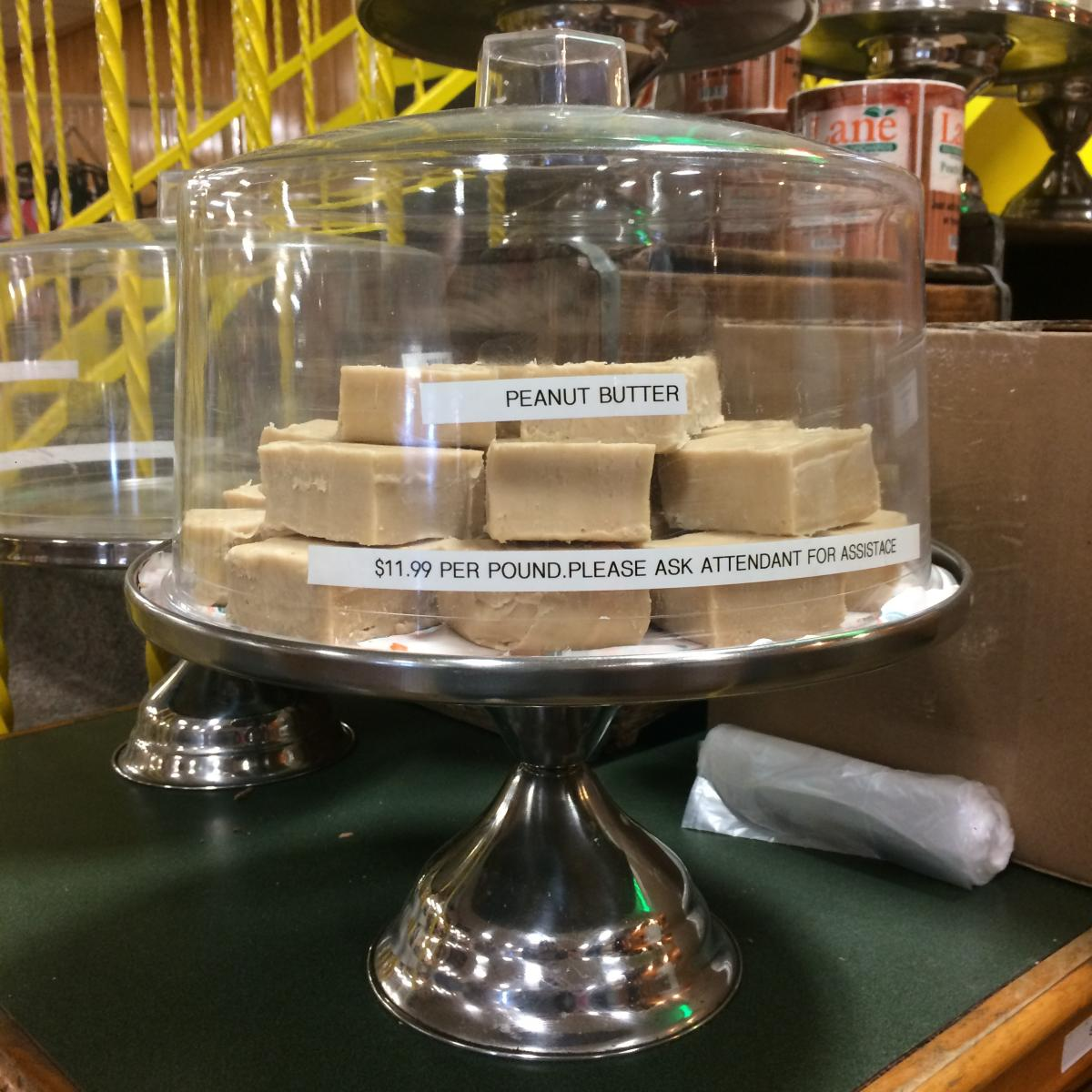 Peanut Butter Fudge at Lane Southern Orchard