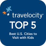 Travelocity Top 5 Logo