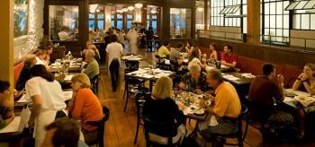 Inside the Sardine Restaurant