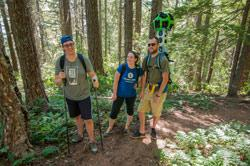 Google Trekker Hiking by Thomas Moser