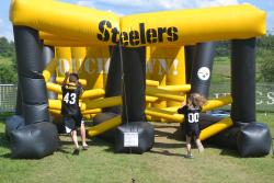 The Kids Experience at Steelers Training Camp