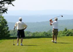 Golfing at Seven Springs Mountain Resort