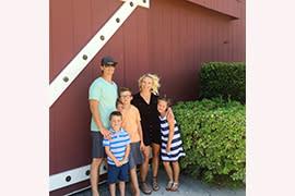 Chris Eggleton and family
