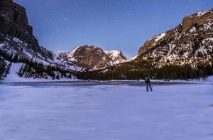 Winter Rocky Mountain National Park