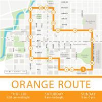 Houston Bus Transportation Greenlink Orange Route