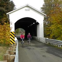 Covered Bridges Scenic Bikeway, Cottage Grove, by Natalie Inouye