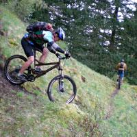 Oakridge Mountain Biking by Norm Coyer