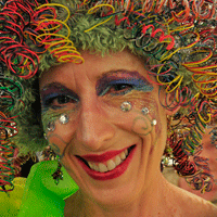 Eugene's Slug Queen Presides Over Many Events by Buzz Summers