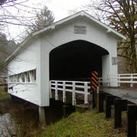 Deadwood Covered Bridge by Jennifer Archer